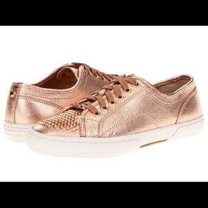 Michael Kors RoseGold women sneakers size 10-11
